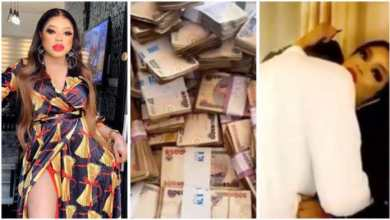 Photo of Bobrisky Display De N15 million Naira He Made Just 1 night With Lover – Video