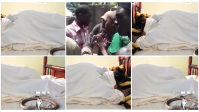 Photo of Married Woman N Lover Gets Stuck Whiles A Snake Stops People From Dividing Dem – Video