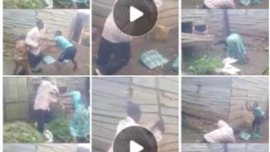 Photo of Mum N Kids Join Forces To Wrestle N Beat Dad – Watch Video