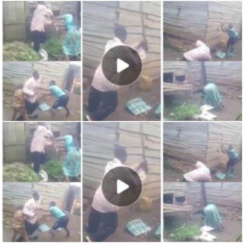 Mum N Kids Join Forces To Wrestle N Beat Dad - Watch Video