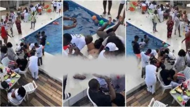 Photo of What These Wild Boys Did To A Slay Queen @ A Pool Party Is Shocking – Video
