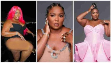 """Photo of Lizzo Goes Raw N Trend On Instagram As She Poses Raw In """"Panties"""" – Watch"""