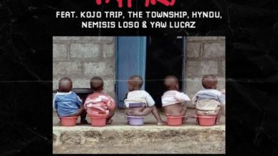Photo of Pappy Kojo – 1 Sima Ft Kojo Trip, The Township, Hyndu, Nemisis Loso & Yaw Lucaz