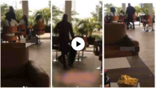 Guy Strip Off Cloth And Items He Bought 4 Girlfriend After Seeing Her Enjoying With Another Man - Video
