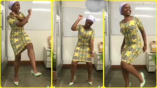 Lady Dance Moves Trending Online Makes Slay Queens Unhappy - Video