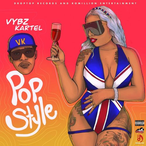 Vybz Kartel – Pop Style (Prod By DropTop Records)