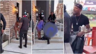 Buy Takes Back Shoes N Clothes 4rm Girlfriend's After He Catches Her With Another Man - Video