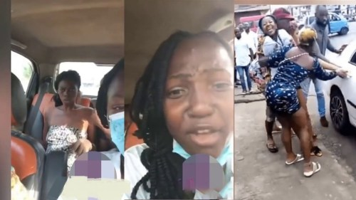 Cute Girl Rushed 2 De Asylum After She Was Seen Undressing Herself On The Streets - Video