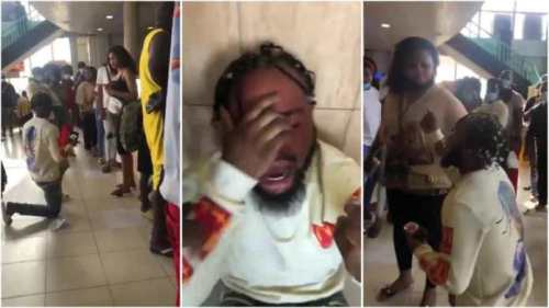 Man In Tears As Girl Turn Down His Proposal - I exchanged my Manh00d for money (Video Below)