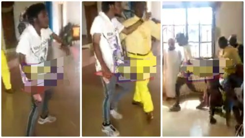 Man Of God Sacked Rastaman 4 Doing Ungodly Dance During Church Praise Service - Video Trends