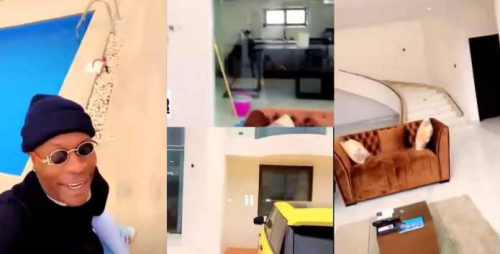 Shatta Wale Tour Fans In His New Mansion, Cars N Swimming Pool - Video Is Amazing