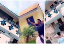 Photo of Stonebwoy Trends During His Visit To St Roses SHS With His Sister Who Gained Admission – Video Below