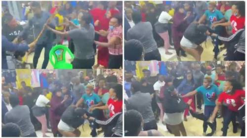 Suspected Phone Thief Strip Nak3d N Beaten In Public - Video Below