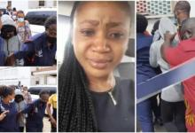 Photo of Video Of Akuapem Poloo Taking Away Quickly In A Taxi Trends – Watch