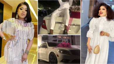 Photo of Bobrisky Dash Out New Mercedes Benz 2 Die-Hard Fan For Keeping erase Tattoo Of Him – Video