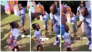 Photo of Davido Beat Daughter, Hailey 4 Trying 2 Twerk @ Her Birthday Party – Video Below