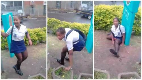 Female Drunk Student Disgraced Herself After Taking In Too Much Drink - Video