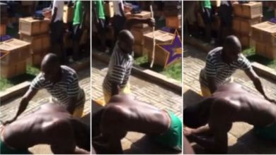 Photo of SHS Student Gladly Poses As Housemaster Cane Him 25 Times – Video