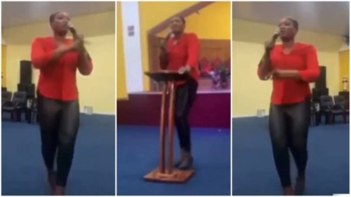 Wife Of Pastor Rains Deep Curses On Members Of Her Church 4 Not Giving Out Money For Her Birthday