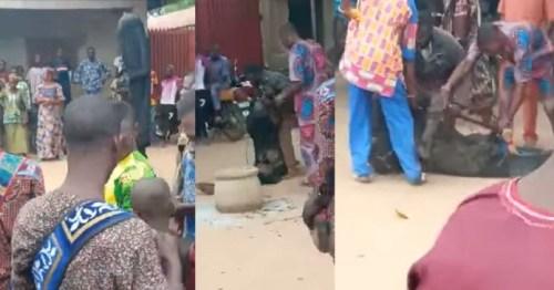 Masquerade's Juju Fail Him As Bullets Penetrate His Spiritual Body - Video
