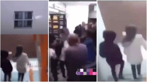 University Students Go Gaga After They Heard A Lady Screaming From Their Colleague Room - Video
