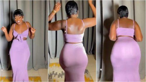 Fella Makafui Shakes The Dancefloor As She Tw3rks N Shakes Her Huge Backside - Video