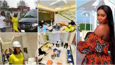 Tiwa Savage Buy New Mansion Amid lɛaktαρє Saga And Gives Fans Free Tour Of The Mansion - Watch