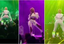 Wendy Shay Make Fans Go Gaga With Her Seducing Performance At Ghana To The World Concert - Video