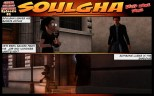 """Soulgha is cut loose by """"The Boss""""."""