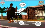 BANKU AND SALTFISH-Light Politics, ghana-comics-Episode-02-03