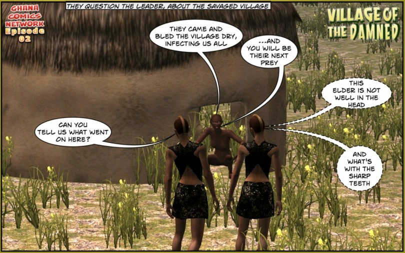 Tribal Rangers ghana comics episode 02-03