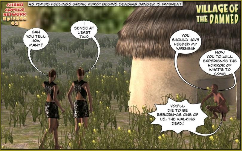 Tribal Rangers ghana comics episode 02-06