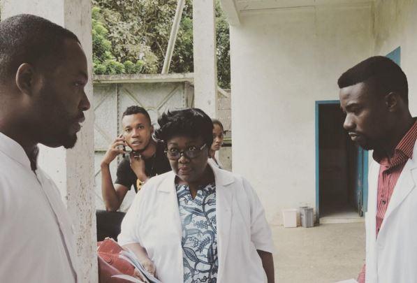 no mans land ghana movie Adjetey anang and Doris Sarketey