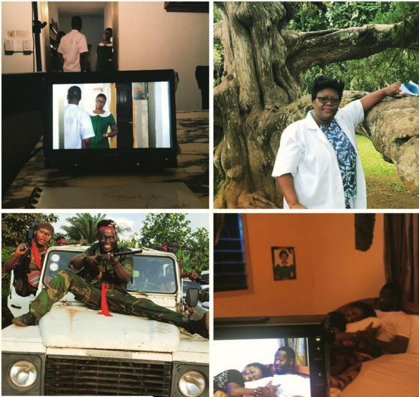 no mans land ghana movie behind the scenes photos