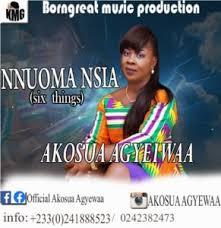 Akosua Agyeiwaa – Nnouma Nsia -[six things]