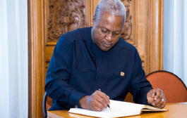 I have done my best – Mahama tells Ghanaians as he leaves office