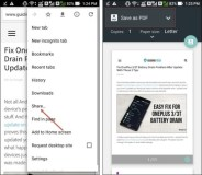 How To Save Web Page As PDF on Android Device