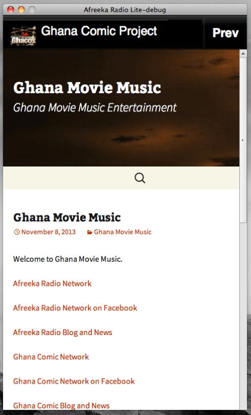 Ghana Movie Music Mobile