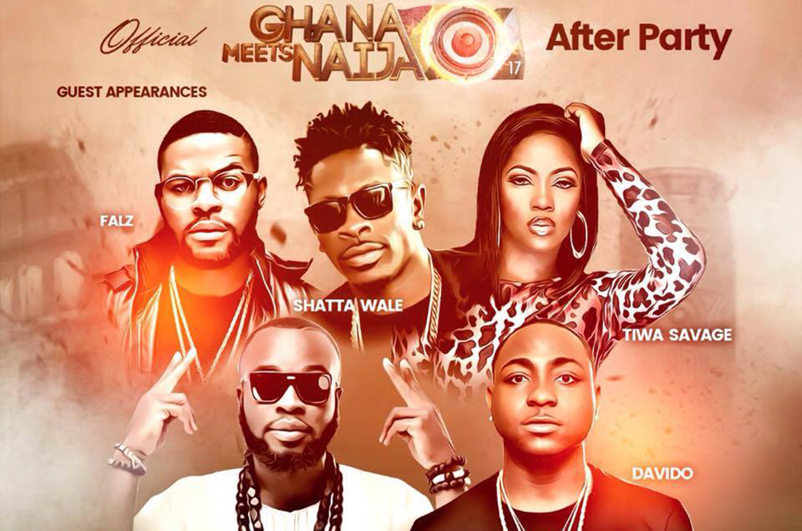 Ghana Meets Naija official after party