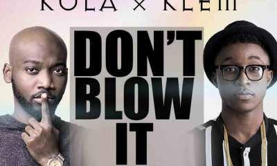 Kula - Don't Blow It artwork