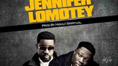 Photo of Audio: Jennifer Lomotey by Kurl Songx feat. Sarkodie