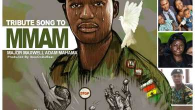 Photo of Audio: MMAM (Tribute Song To Capt. Maxwell) by Ras Kuuku