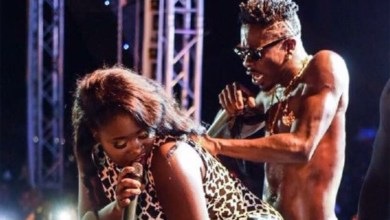 Photo of Sista Afia thanks Shatta Wale for 'Jeje' song & music video