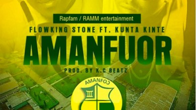 Photo of Audio: Amanfuor by Flowking Stone ft. Kunta Kinte