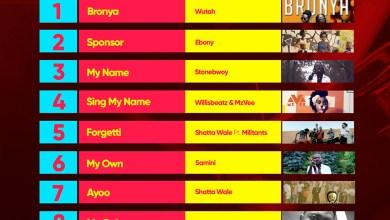 Photo of Week #31: Ghana Music Top 10 Countdown