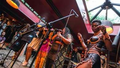 Photo of Wiyaala joins all female band