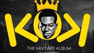 Photo of Koo Ntakra unveils official artwork for upcoming mixtape