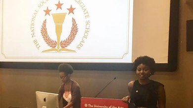 Photo of Annisstar inducted into National Society of Collegiate Scholars in USA