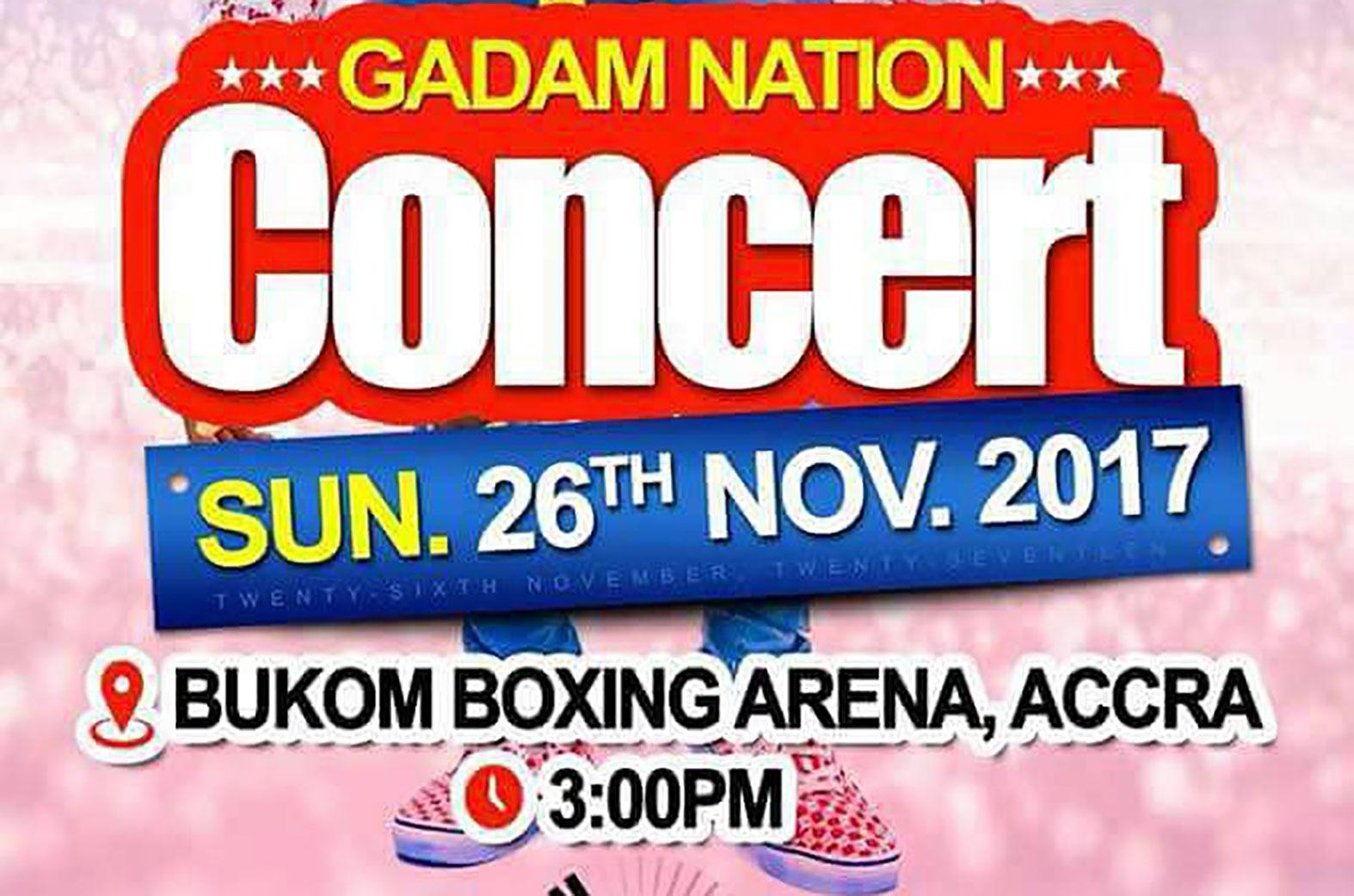 Gadam Nation concert