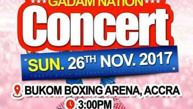 Photo of Fancy Gadam set for next Accra concert at the Bukom Boxing Arena